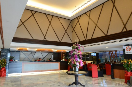 Lobby at Hotel Melaka Sentral
